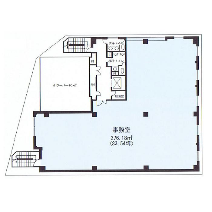 名駅3 サンシャイン名駅ビル 平面図