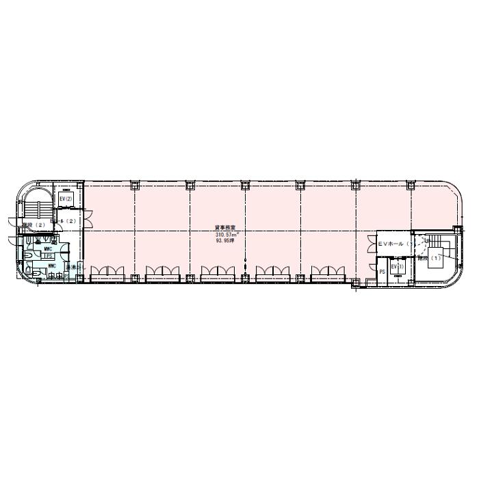 栄2 岩田工機本社ビル 平面図
