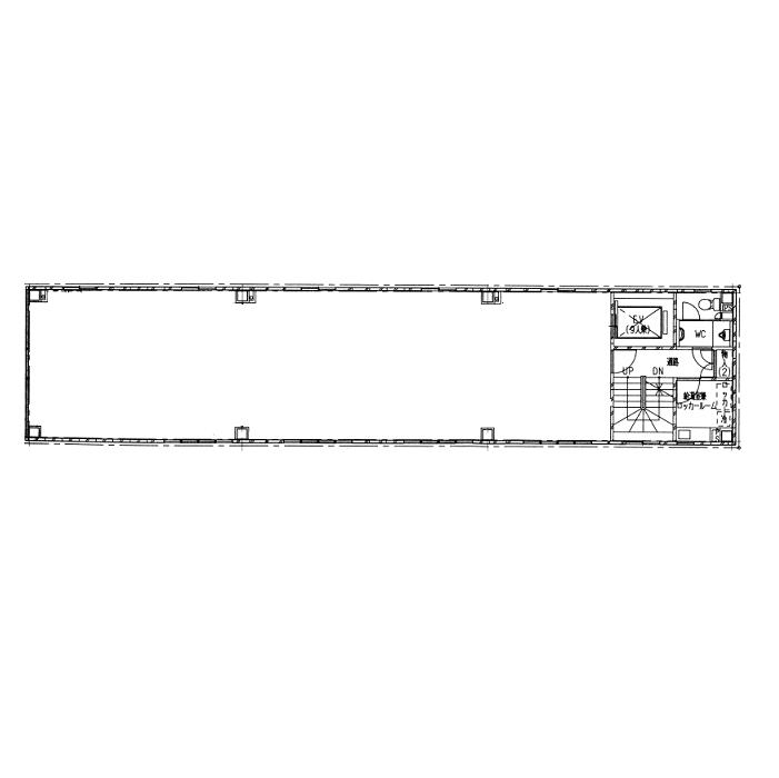泉1 スタメン泉ビル 平面図