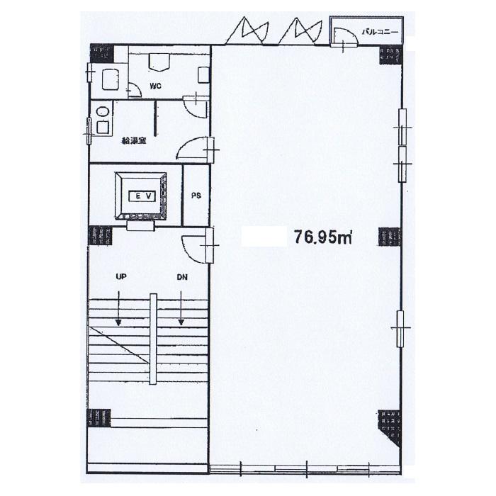 栄3 エフジー栄三丁目ビル 平面図