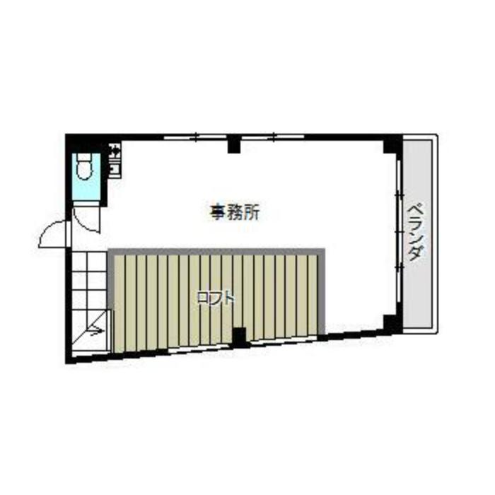 大井町 第三安田ビル 平面図