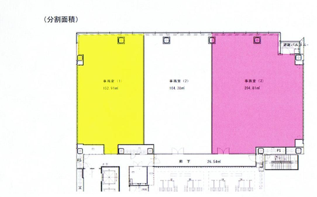 錦2 名古屋錦フロントタワー 平面図