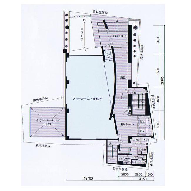 名駅5 名駅DHビル 平面図