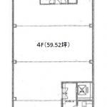大須2 プロシーム大須 平面図