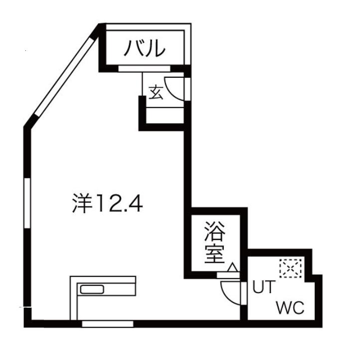 松重町 KAKOビル 平面図