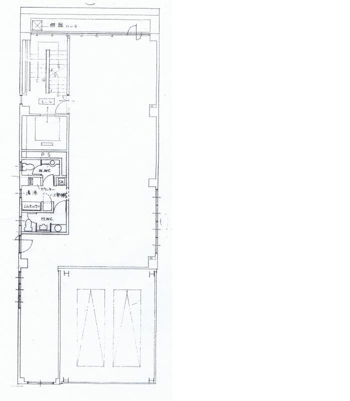 丸の内1 モリサワビル 平面図