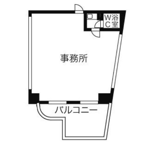 栄1 パルナス栄 平面図