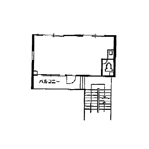 栄3 伊東屋ビル別館 平面図