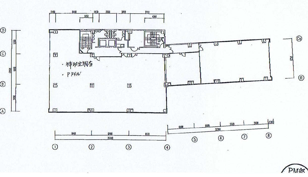 椿町 明治安田生命名古屋西口ビル 平面図