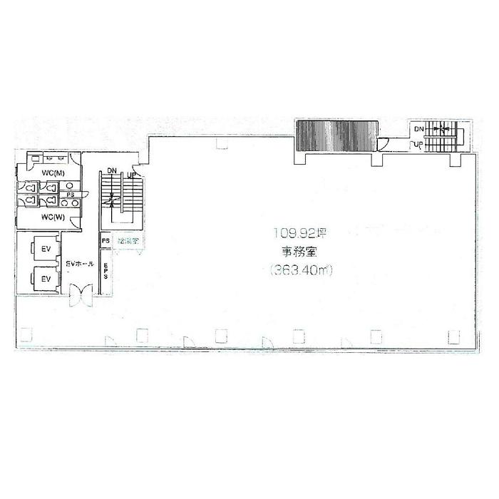 名駅2 CK20名駅前ビル 平面図