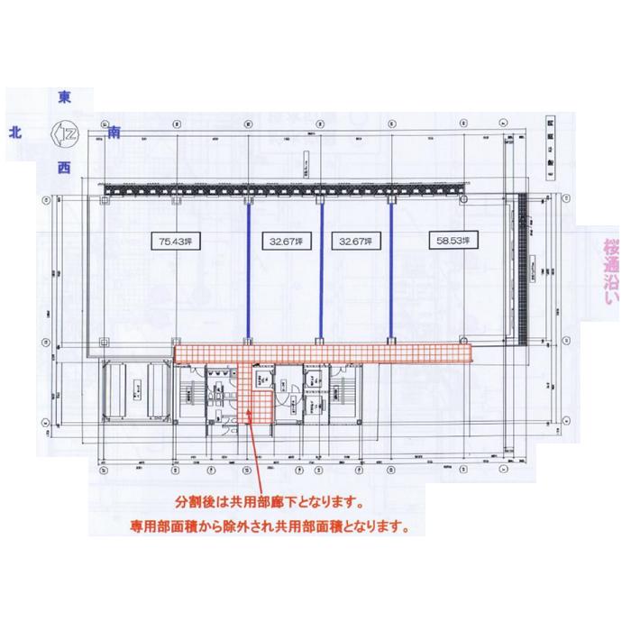 泉1 泉ファーストスクエア 平面図(間取)