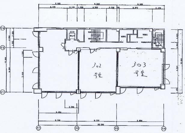 太閤1 秀幸ビル 平面図