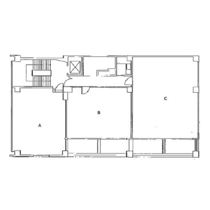 千代田5 STPLAZA TURUMAI 本館 平面図