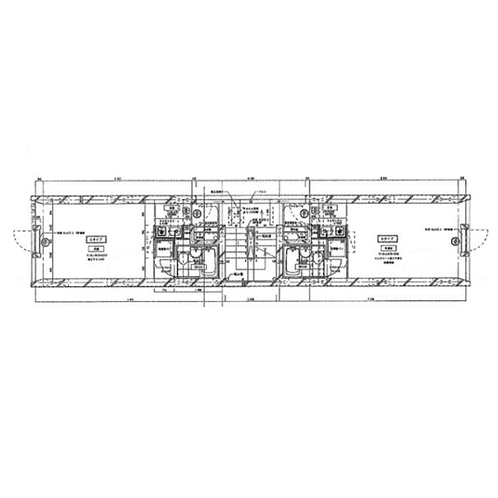 栄1 フラットベースA-1 平面図