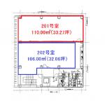 大井町 フカヤビル 平面図