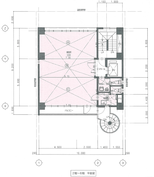 今池4 パークフロント今池 平面図