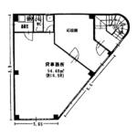 浅間2 丸一浅間ビル 平面図