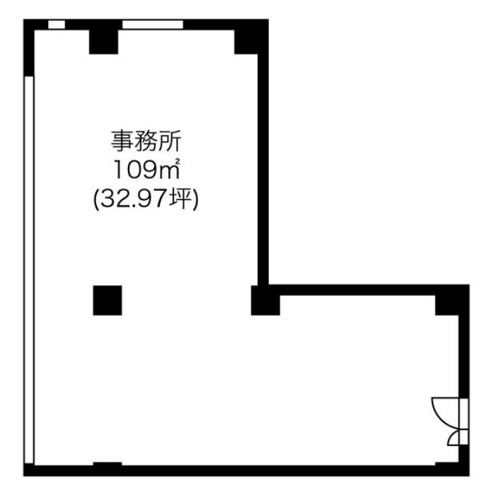 上前津2 第一住建上前津ビル 平面図