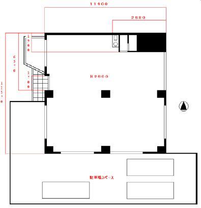 筒井3 グレイシス葵 平面図