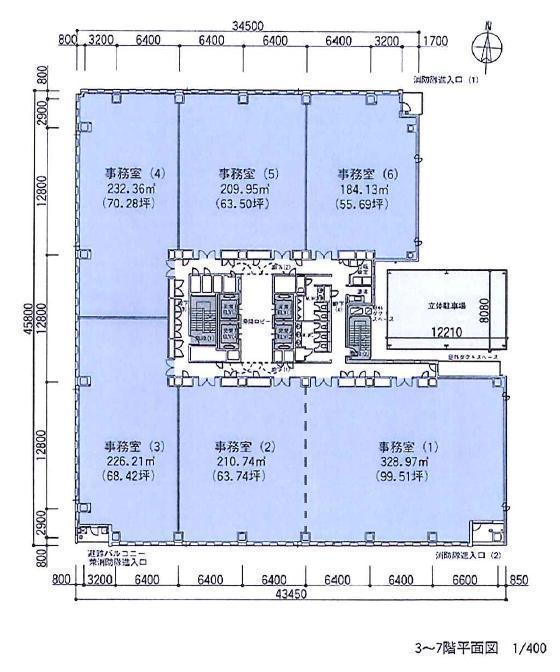 栄4 名古屋広小路プレイス 平面図