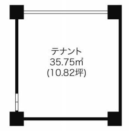 則武1 ノリタケ第2ビル 平面図
