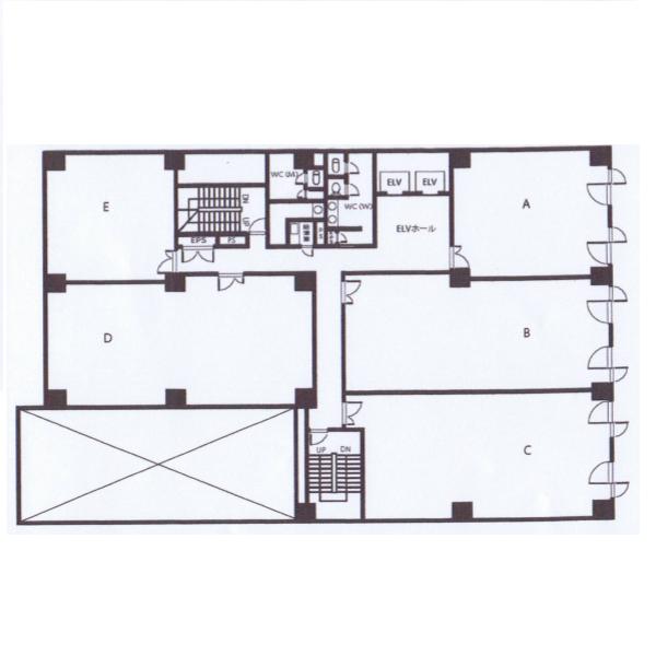 錦3 こまビル 平面図