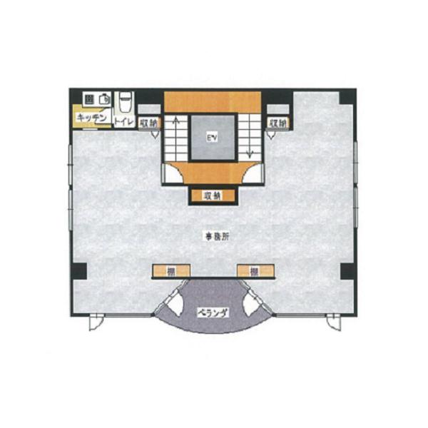 泉3 渡辺ビル 平面図