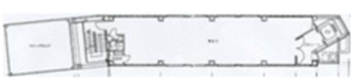 栄2 白川タワービル 平面図