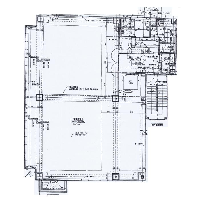 名駅2 CK18名駅前ビル 平面図
