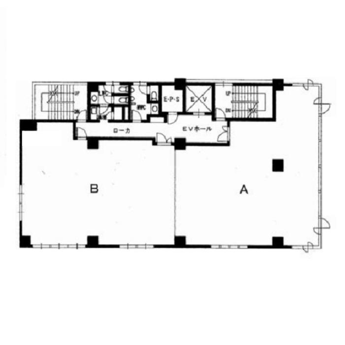 丸の内1 伊藤忠丸の内ビル 平面図