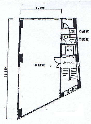 今池4 梅村ビル 平面図