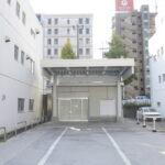 【脇田ささしまライブ】1棟16.69坪 中川区運河町、前面広々駐車スペース付き1棟貸事務所