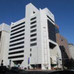 【ポーラ名古屋ビル】11階28.08坪 中区栄2丁目、伏見通沿い白を基調とした外観の賃料お値打ちビル