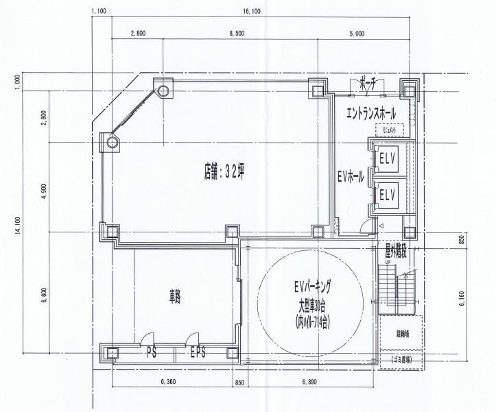丸の内3 第17KTビル 平面図
