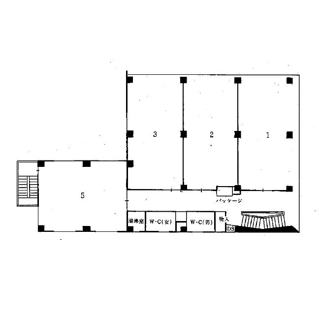 入船2 海運ビル 平面図