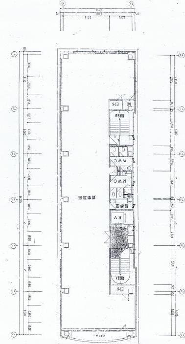 栄2 TF広小路本町ビル 平面図