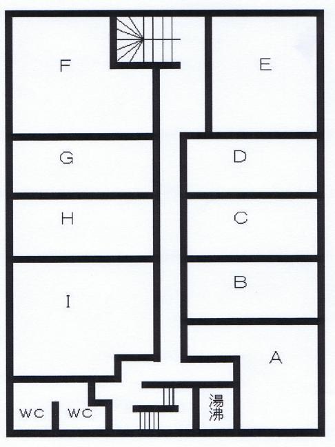 今池南 川島第三ビル 平面図