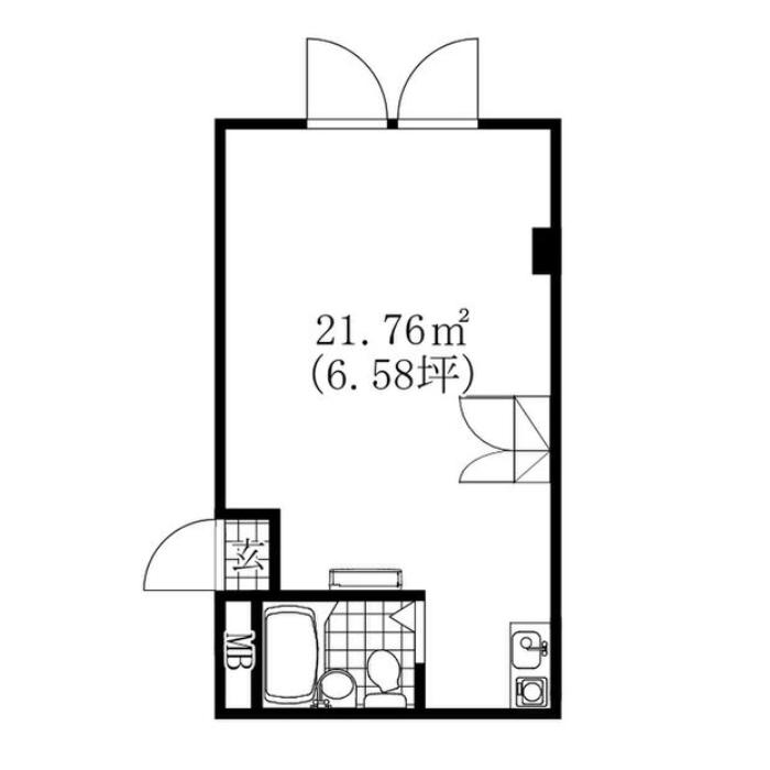 則武新町4 SG名古屋駅ビル 平面図
