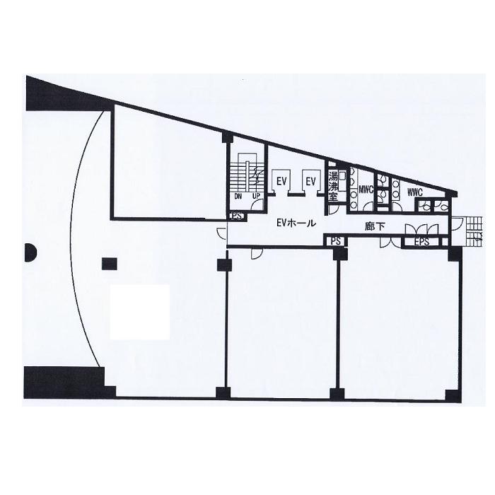 錦1 STAGE NISHIKI 平面図