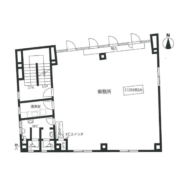葵2 三恵ビル 平面図