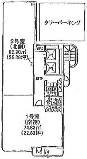 名駅南 ネットプラザ柳橋 平面図