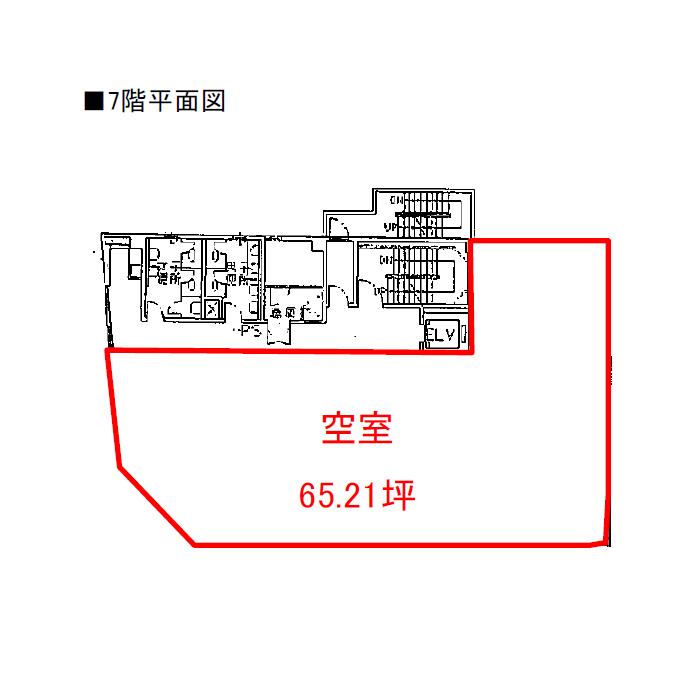 岡崎市康生通東1 岡崎フロントビル 平面図