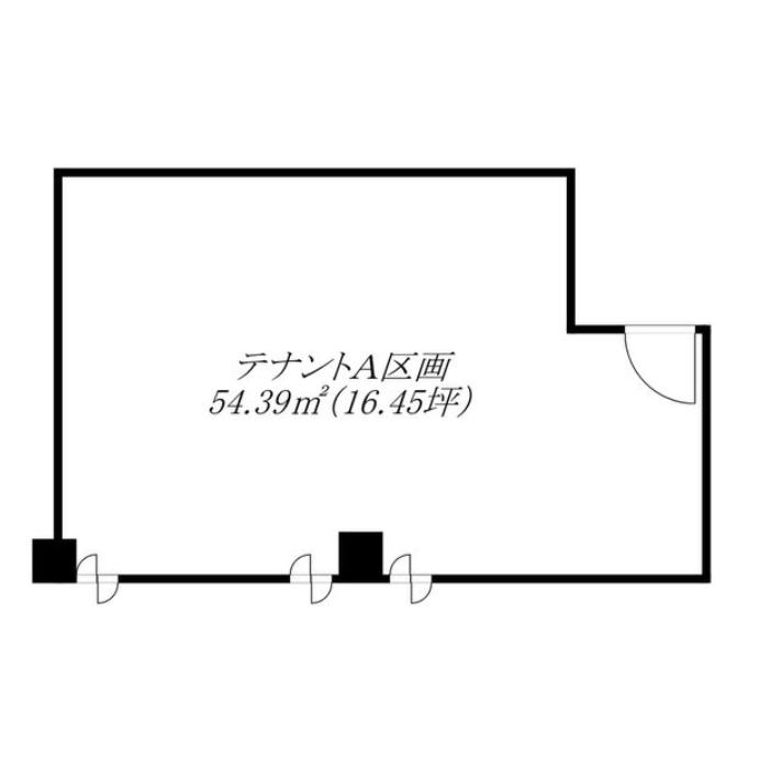 大須2 大須ステーションプラザ 平面図