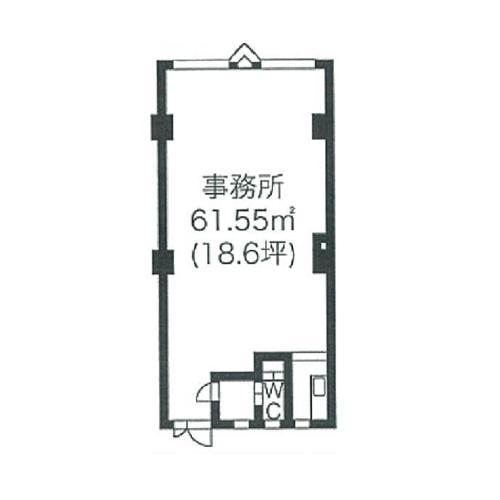 一社3 宮地興産ビル 平面図