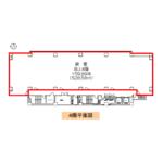 金山町1 電波学園金山第一ビル 平面図