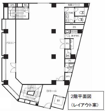 名駅4 名駅あさひビル 平面図(間取)