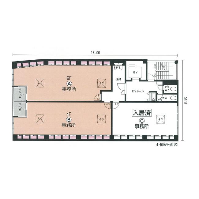 千代田 ISOビル 平面図
