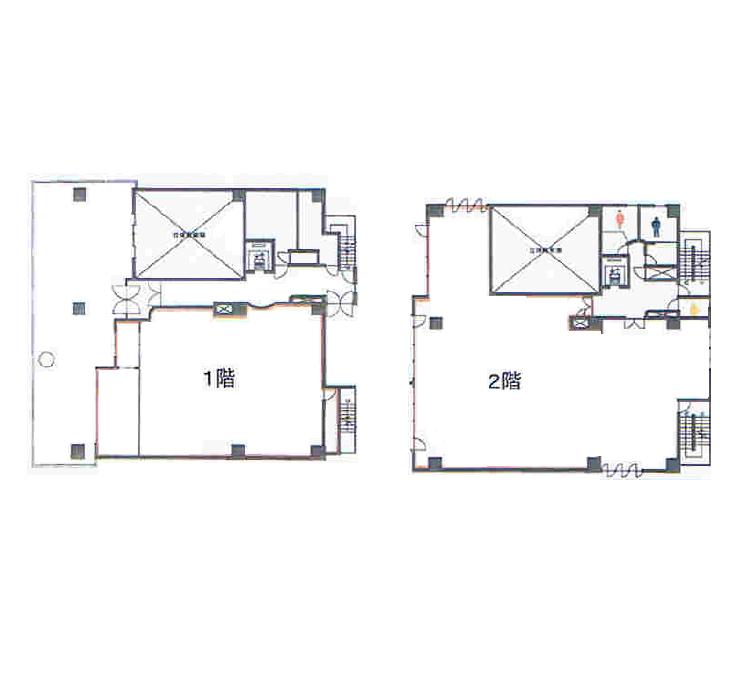 葵1 KT葵ビル 平面図