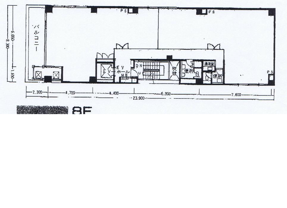 泉1 吉泉ビル 平面図