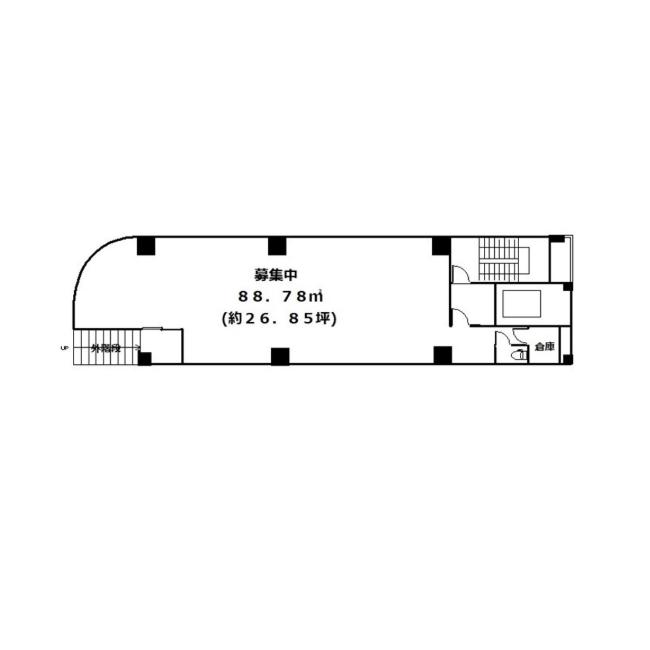 泉1 泉久屋サンコービル 平面図